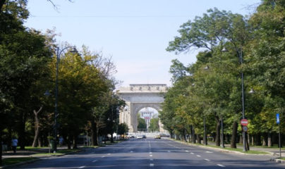 ARCH OF TRIUMPH IN BUCHAREST