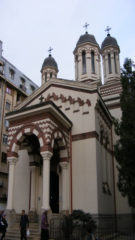 ZLATARI CHURCH BUCHAREST, ROMANIA