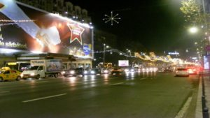 Bucharest weather in December