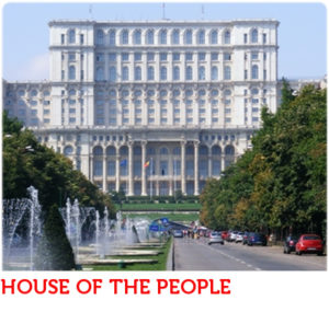 HOUSE OF PEOPLE Búkarest