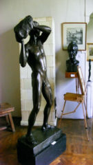 STORK EXHIBIT BUCHAREST MUSEUM